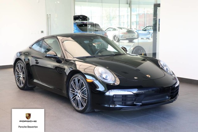 Certified Pre Owned 2016 Porsche 911 Carrera Black Edition