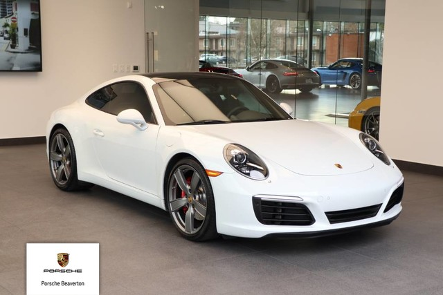 Certified Pre Owned 2017 Porsche 911 Carrera S