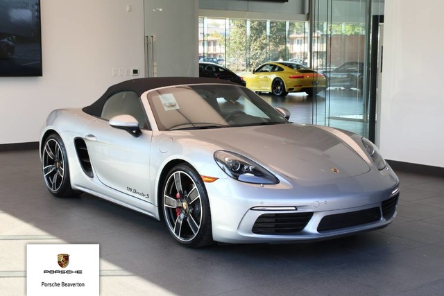 Certified Pre Owned 2017 Porsche 718 Boxster S Convertible In