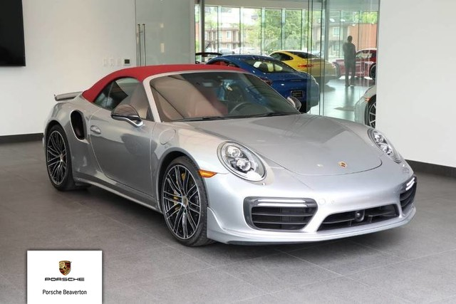 Certified Pre Owned 2017 Porsche 911 Turbo S Convertible In
