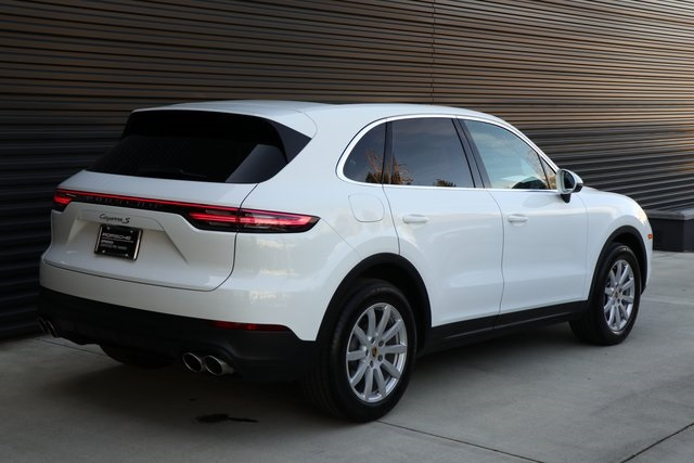 Certified Pre-Owned 2019 Porsche Cayenne S