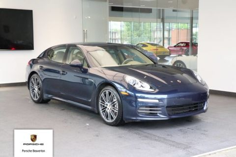 Certified Pre-Owned 2015 Porsche Panamera 4S